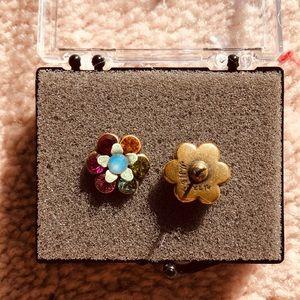 MICHAL NEGRIN flower studs